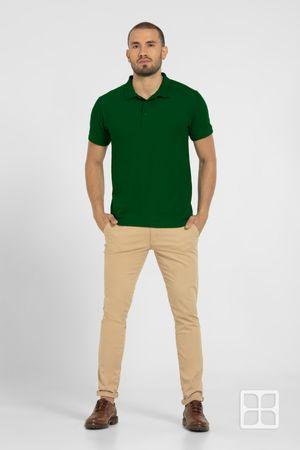Playera Tipo Polo  Premium para Hombre Color Bandera