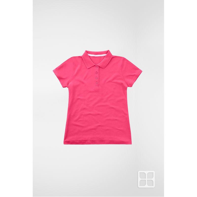 Playera-Tipo-Polo-de-Alta-Calidad-para-Mujer-Color-Heliconia